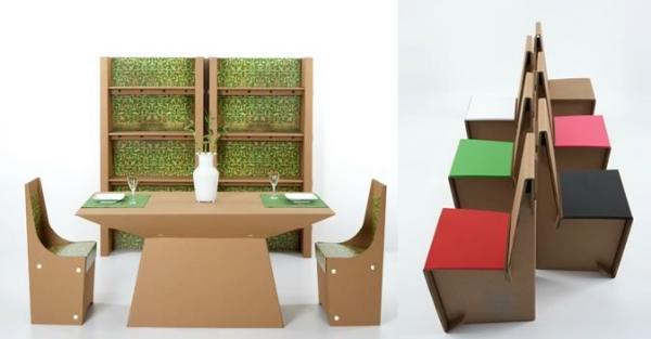 Muebles de cartón 3