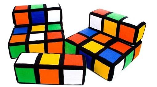 """Muebles de inspiración """"Cubo Rubik"""" 2"""