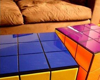 Muebles de inspiracion Cubo Rubick