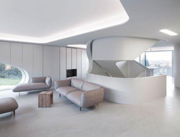 OLS House living minimalista