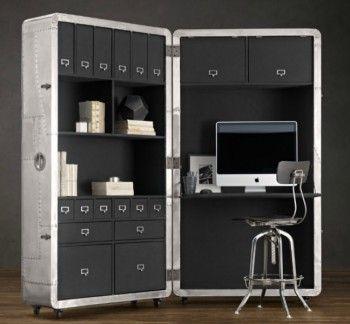 Oficina compacta para ahorrar espacio