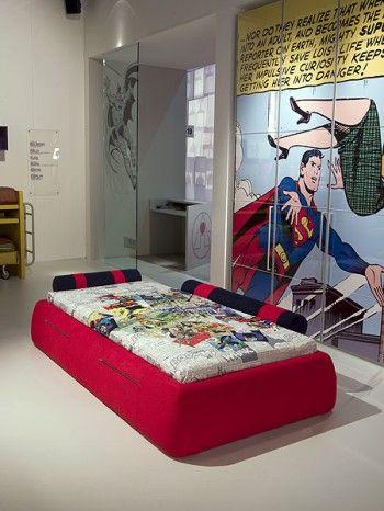 Superman en la decoracion de interiores 1