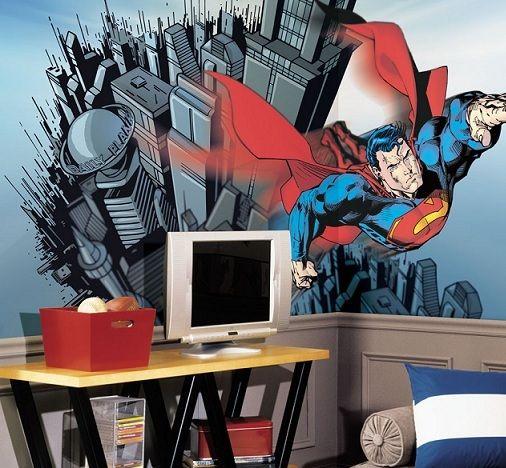 Superman en la decoracion de interiores 2