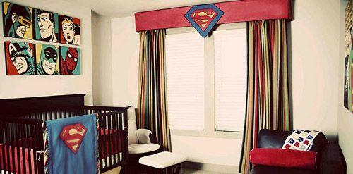 Superman en la decoracion de interiores 5