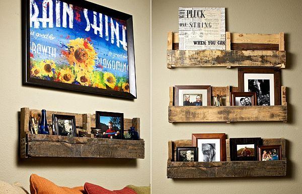 Tácticas para crear una estantería para el hogar.