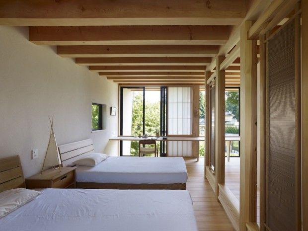 Yatsugatake Villa interiores