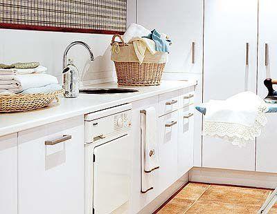 Zona de lavado y planchado en la cocina 5