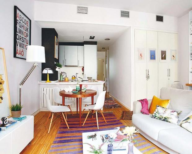apartamentos pequeños con cocina americana