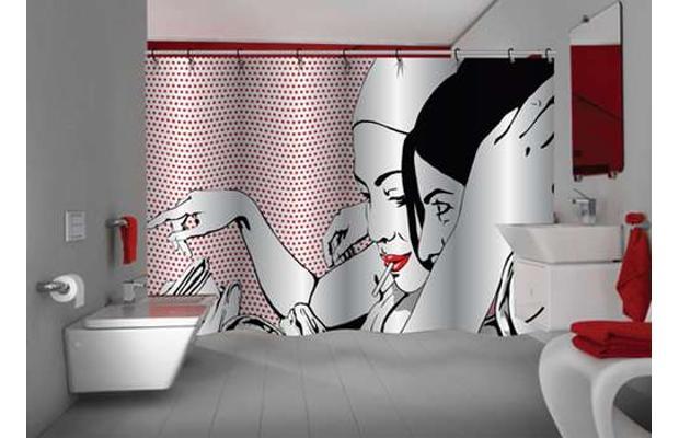 cortinas de baño chic