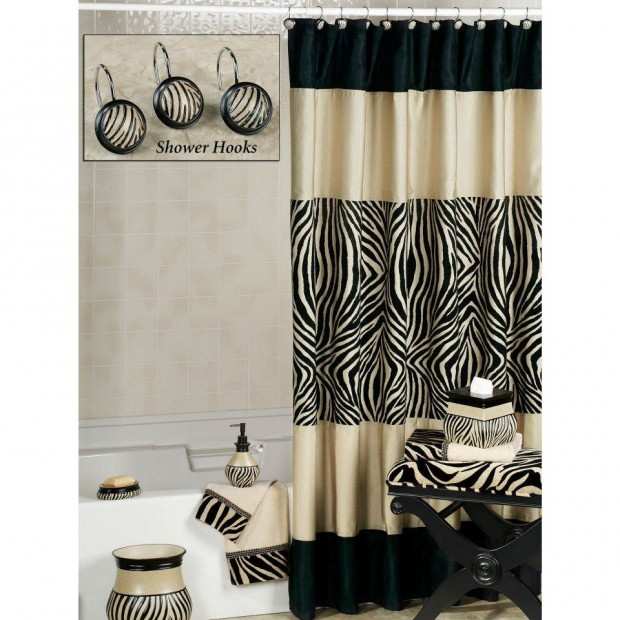cortinas de baño con estilo