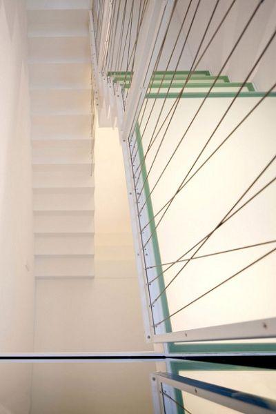 moderna casa alemana escalera