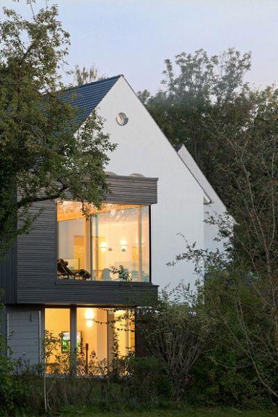 moderna casa alemana fachada