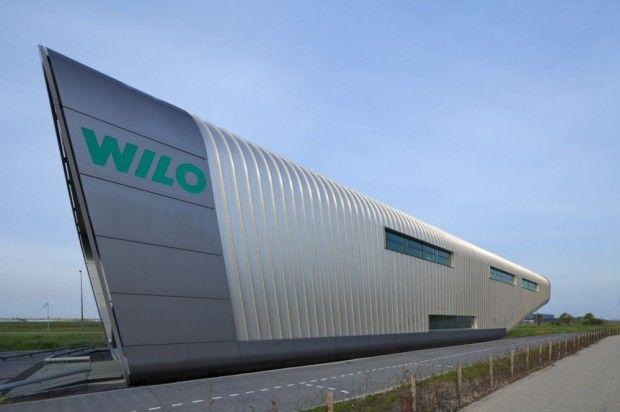moderno edificio Wilo