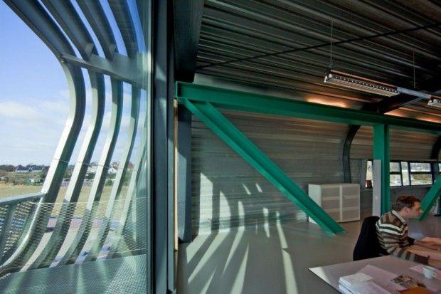 moderno edificio Wilo interior
