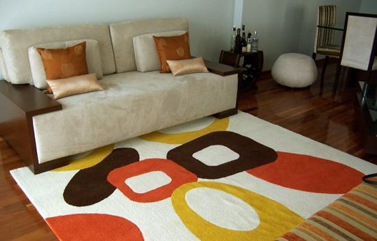 Alfombras para pisos de parquet - Alfombras de madera para salon ...