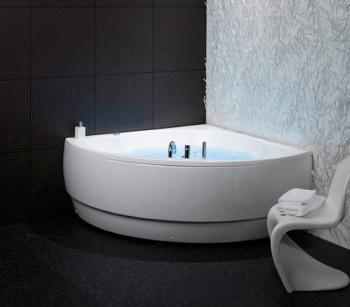 Bañeras de esquina, ideal para baños pequeños