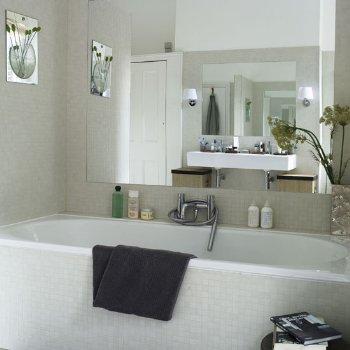 Baños con bañeras grandes