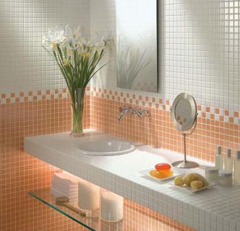 Baños decorados con Gresite