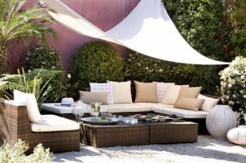 Como decorar la terraza en verano - Piedras para jardin baratas ...