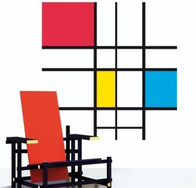 Decoración estilo Mondrian 2