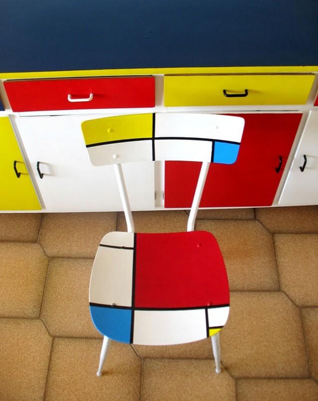 Decoración estilo Mondrian 3