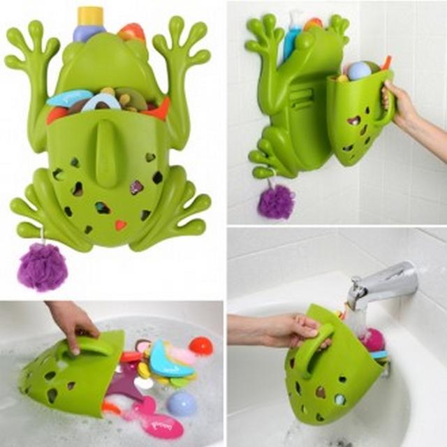 Decoracion de baño infantil tematica ranas 4