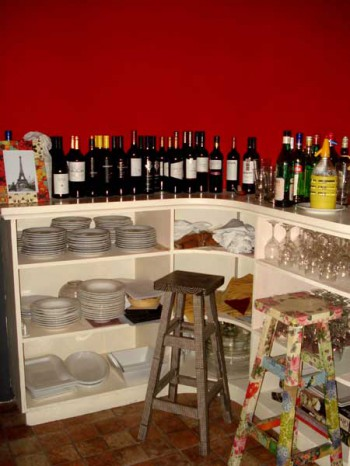 Decoracion de cocinas con vinos 1
