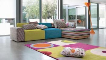 El uso de los sofás modulares en la decoración
