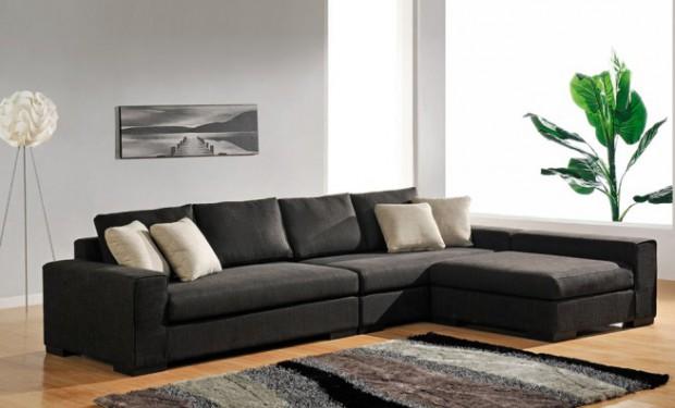 El uso de los sofás modulares en la decoración.