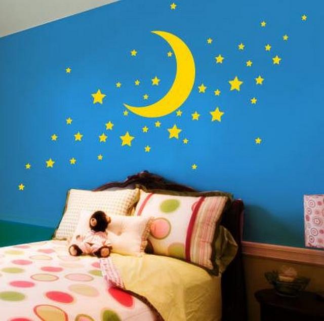 Ideas para decorar paredes de habitaciones infantiles  3