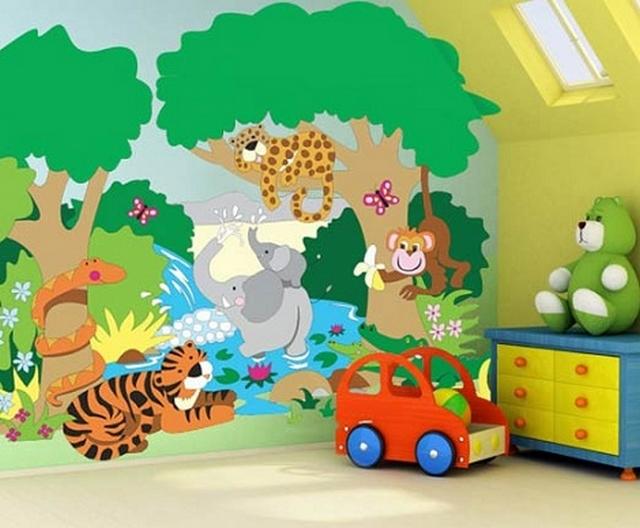 Ideas para decorar paredes de habitaciones infantiles - Decorar habitacion infantil nino ...