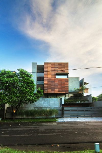 Moderna vivienda en Indonesia