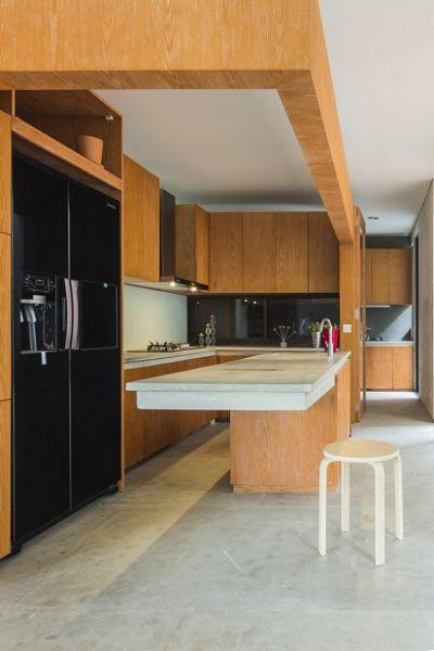 Moderna vivienda en Indonesia interiores