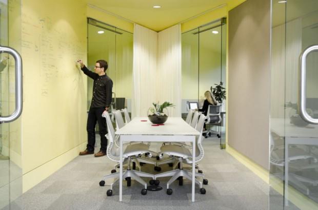 Modernas Oficinas interiores
