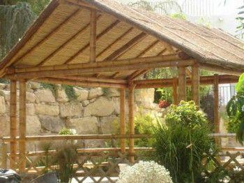 Pergolas de bambu