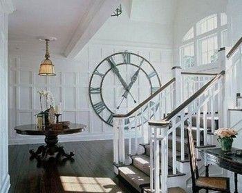 Relojes gigantes para decorar paredes 2