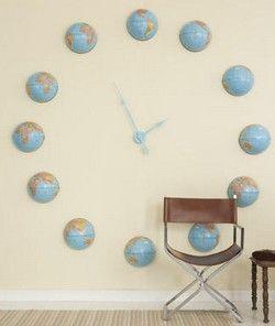Relojes gigantes para decorar paredes