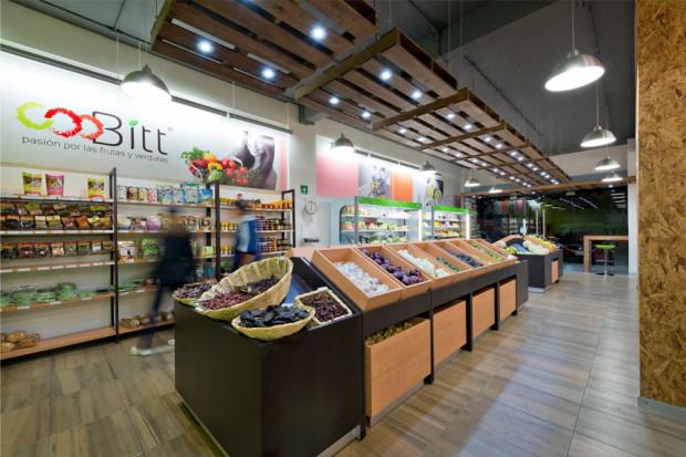Tienda de frutas y verduras diseño