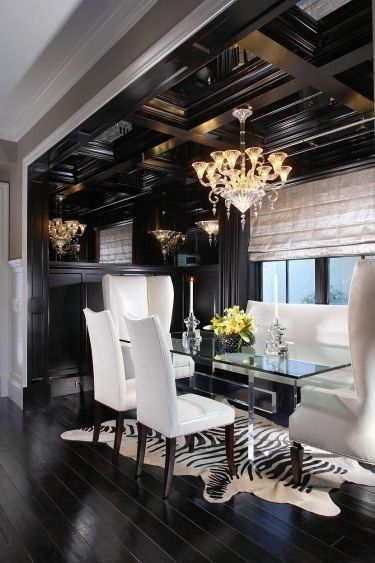 black and white dining room ideas ideas amp consejos decoraci 243 n de comedores elgantes 26480