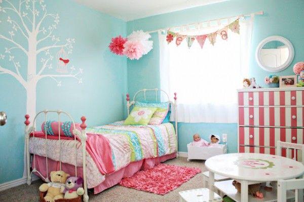 Ideas Dormitorios Infantiles Turquesa