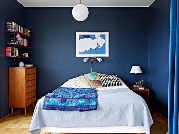 dormitorios en azul