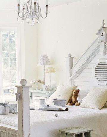 Tendencias el blanco en dormitorios infantiles - Dormitorios infantiles blancos ...