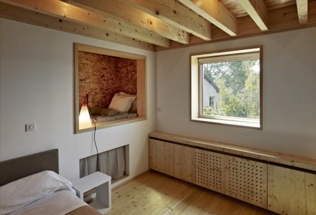 moderna casa de campo interiores