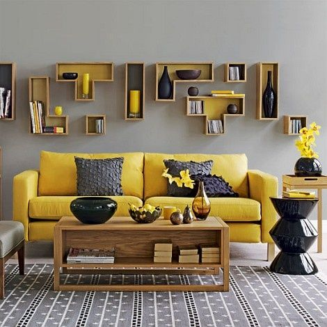 Image result for decoracion interiores amarillo