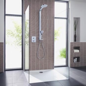 Como aumentar la elegancia de los baños por medio de las duchas