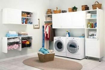 Como crear una área de lavandería en el hogar