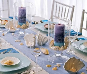 Como decorar la mesa en verano 1