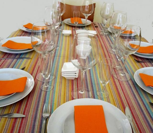 Como decorar la mesa en verano 2