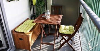 Como decorar un balcón de pocas dimensiones