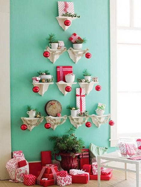Decoración de Navidad para espacios pequeños 2